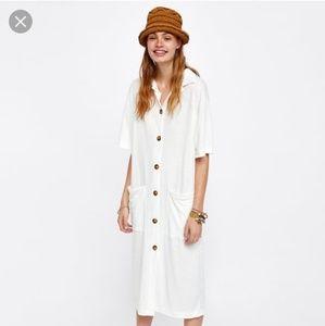 Zara Midi Dress with Pockets